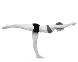 Balancing Stick Pose/Tuladandasana