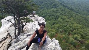 Hanging Rock State Park; Hanging Rock Trail - moderate.